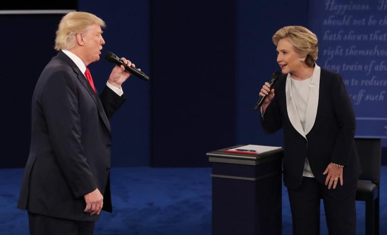 Image: Second Presidential debate
