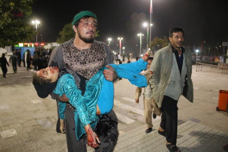 Image: TOPSHOT-AFGHANISTAN-UNREST-SHIITES-ASHURA