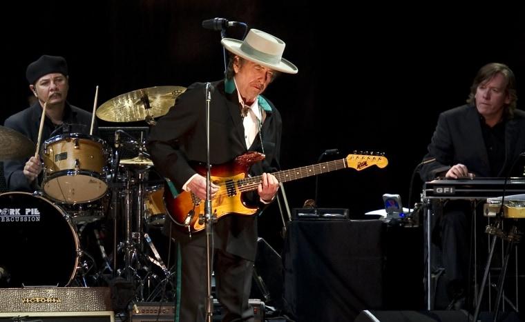 Image: Bob Dylan in 2011