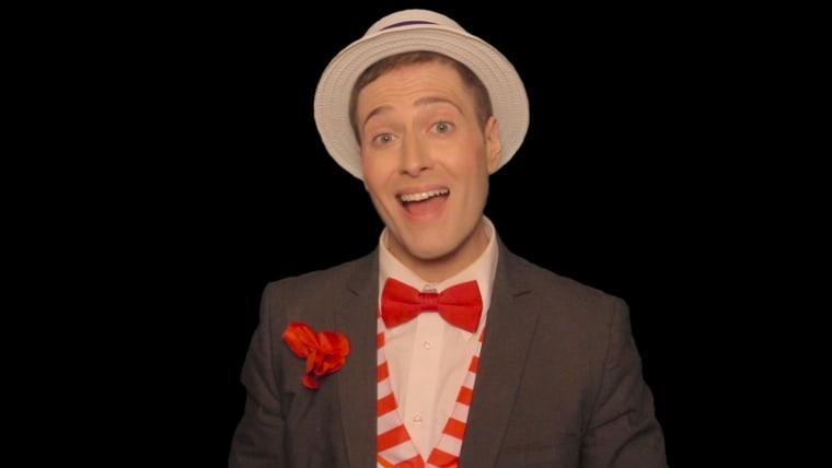 Comedian Randy Rainbow