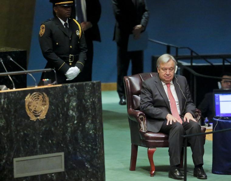 Image: U.N. Secretary-General-designate Antonio Guterre