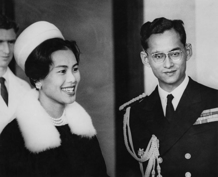 Image: Thai Royals In NZ