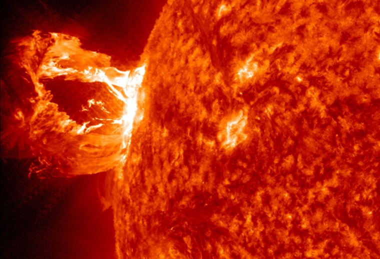 Solar storms could knock out communications satellites and the power grid