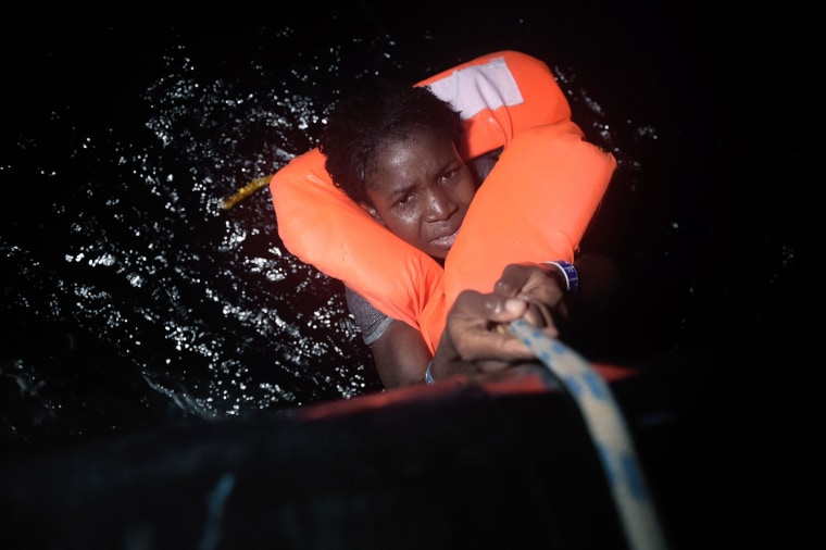 Image: TOPSHOT-LIBYA-EUROPE-MIGRANTS