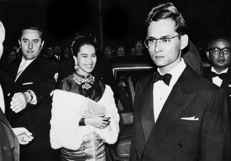 Image: King Bhumibol Adulyadej Of Thailand and Queen Sirikit Kitiyakara