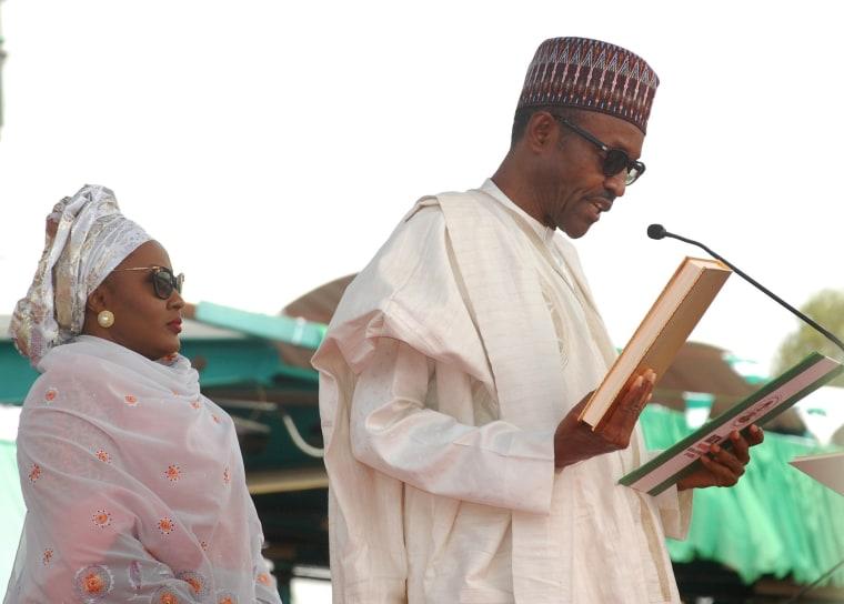 Image: Presidential inauguration in Nigeria