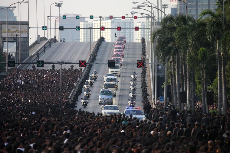 Image: King Bhumibol Adulyadej dies age 88