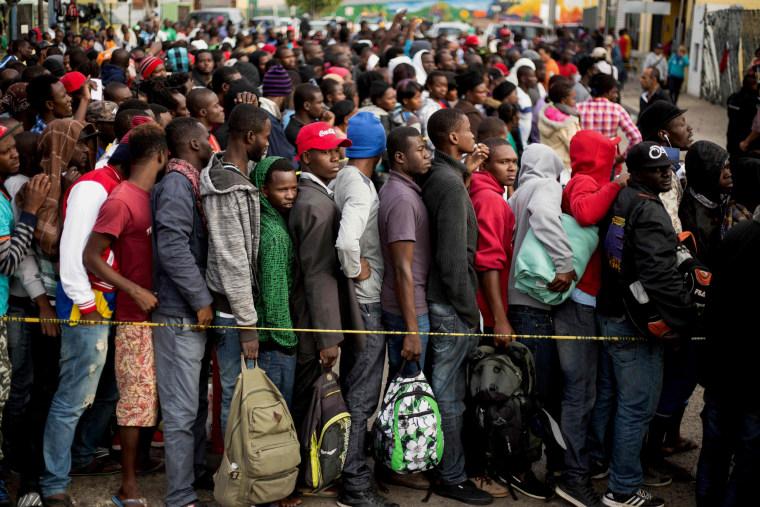 Image: MEXICO-US-HAITI-AFRICA-MIGRATION