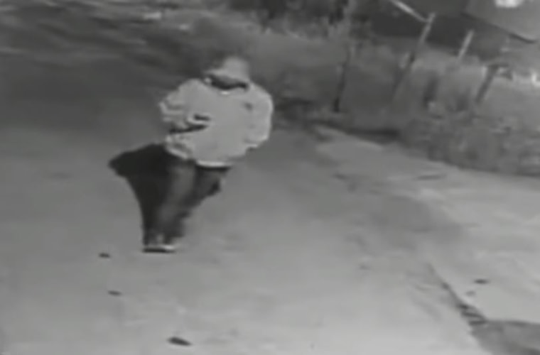 The FBI are searching for a serial child abductor who was caught on video.