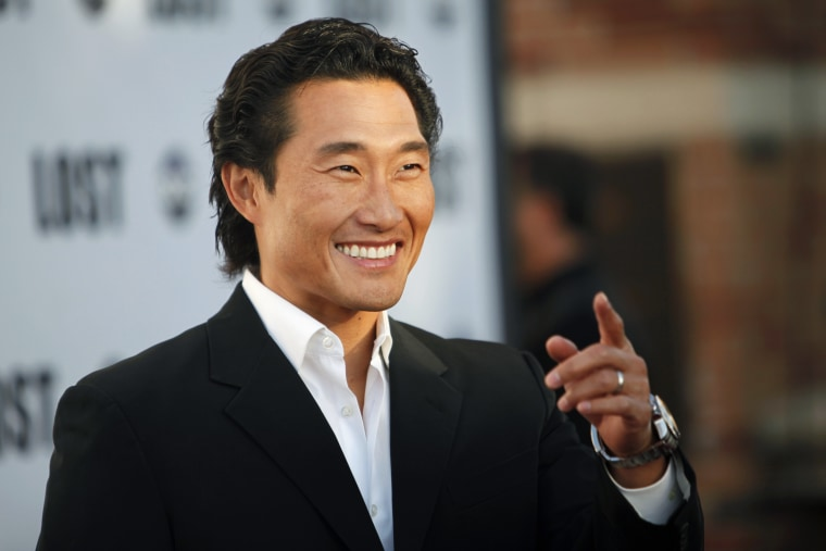 "Image: Actor Daniel Dae Kim arrives at ABC's ""Lost"" Live: The Final Celebration at UCLA Royce Hall in Los Angeles"