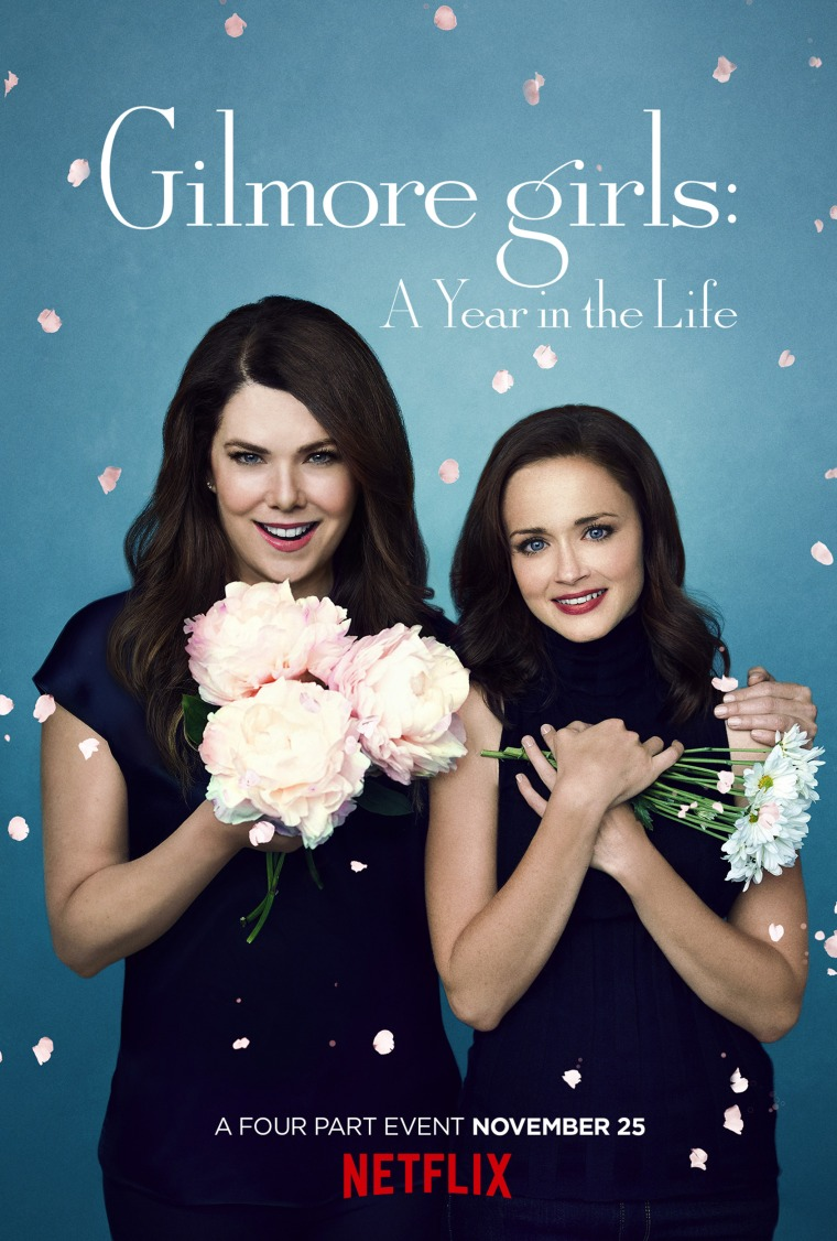Gilmore girls: A Year in the Life poster. Spring