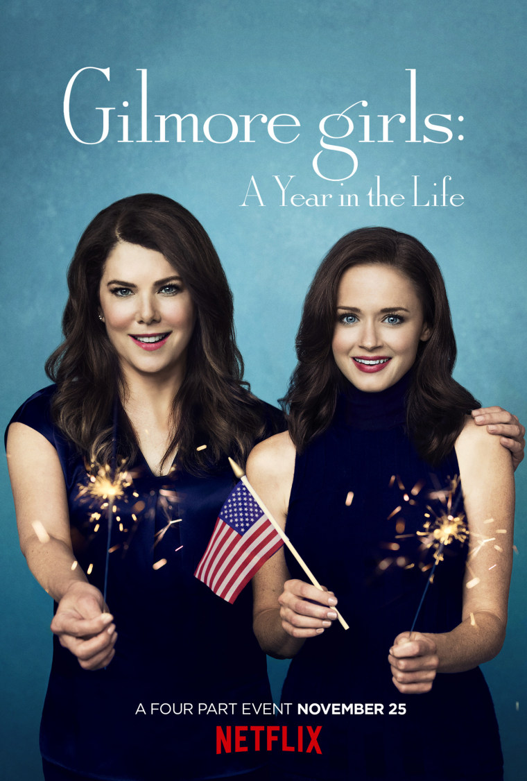 Gilmore girls: A Year in the Life poster. Summer.