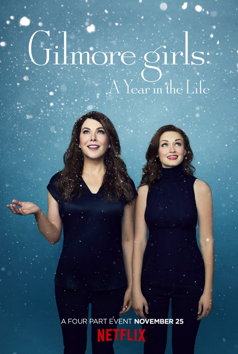 Gilmore girls: A Year in the Life poster. Winter.