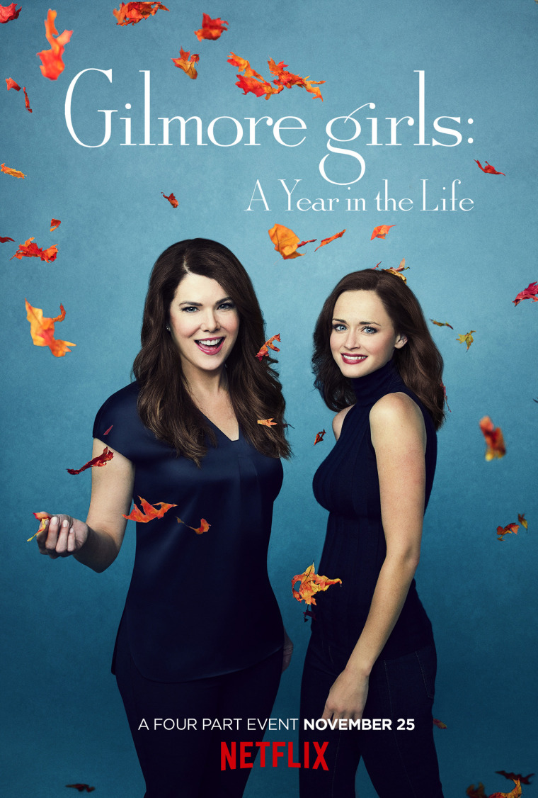 Gilmore girls: A Year in the Life poster. Fall.