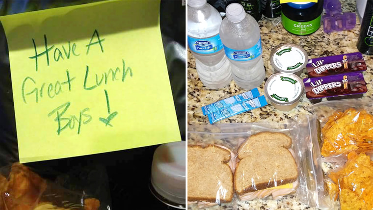 Boy asks mom to pack extra lunch for friend who had none