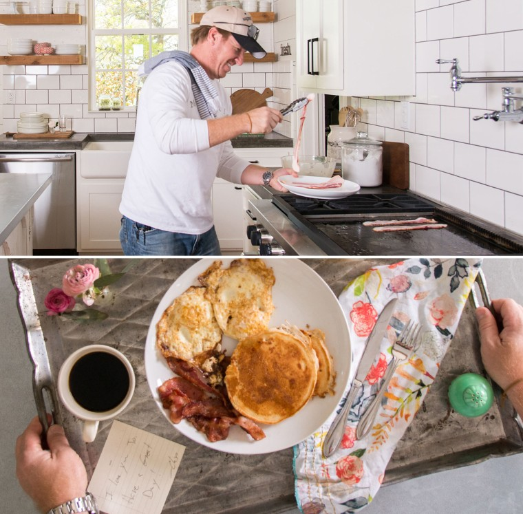 Chip and Joanna Gaines' typical morning routine