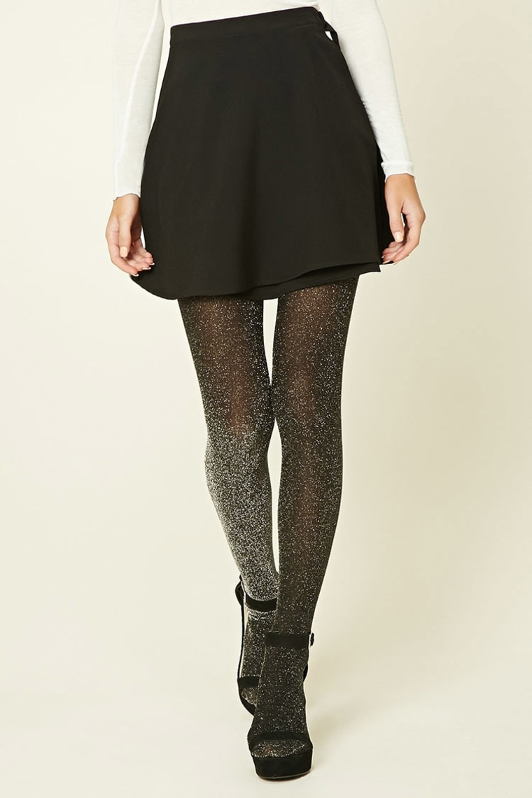 Forever 21 Sheer Shiny Tights