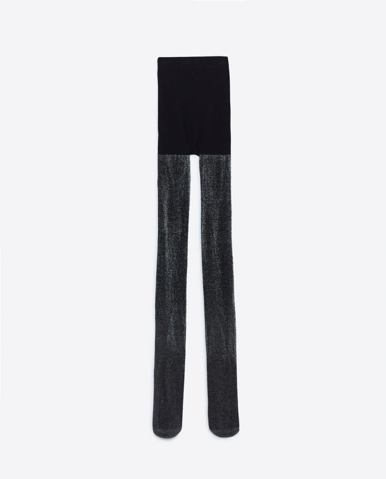 Zara shiny tights