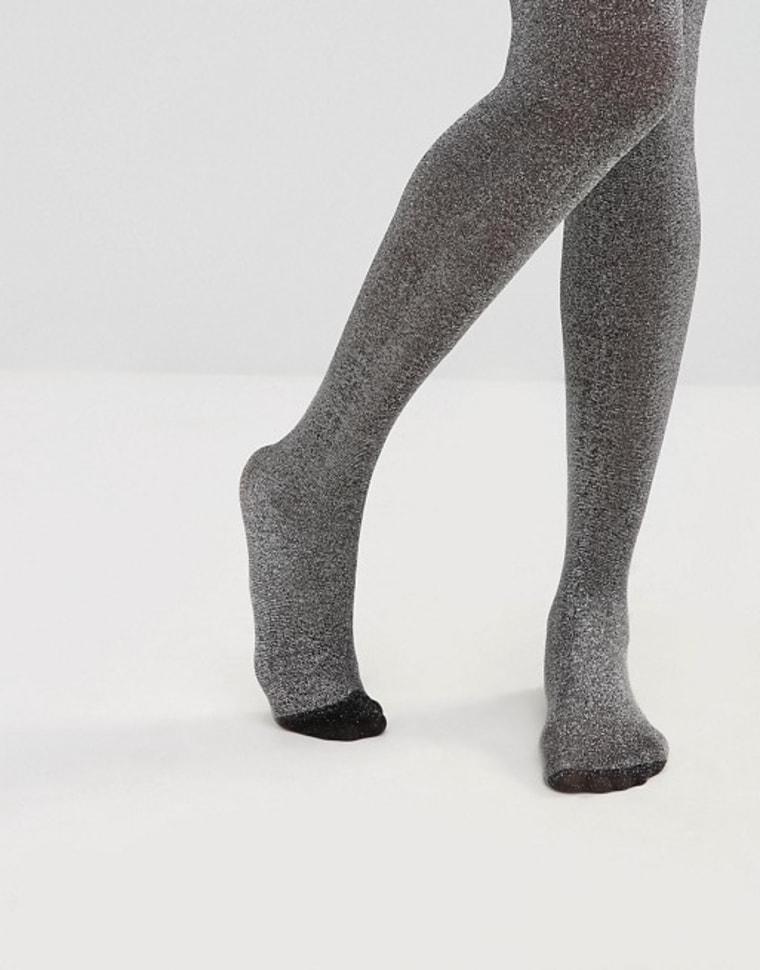 ASOS glitter tights