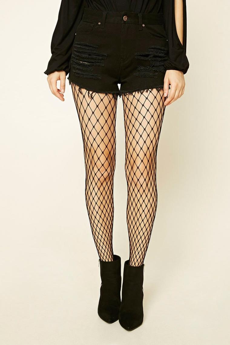 Forever 21 fishnet tights