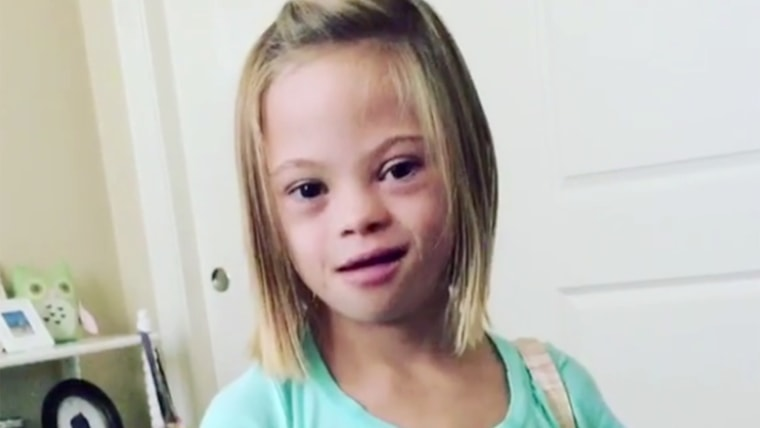 7-Year-Old Girl Explains Down Syndrome: 'It's Not Scary, It's So Exciting'