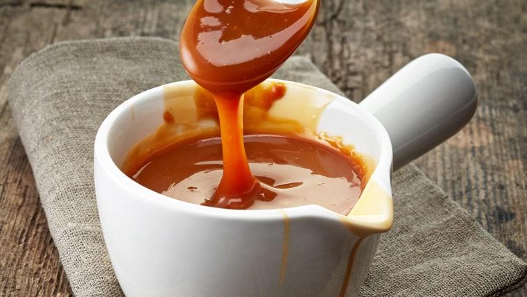 Easy Microwave Caramel Sauce