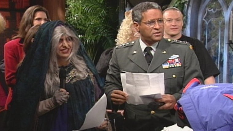 General Colin Powell and a witch