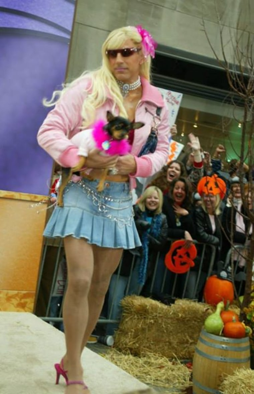 Matt Lauer as Paris Hilton