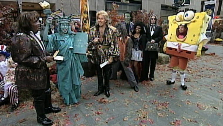 Siegfried and Roy, SpongeBob SquarePants, the Statue of Liberty