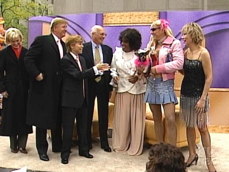 Paris Hilton, Oprah, Donald Trump and Tina Turner