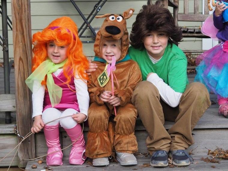 scooby doo siblings costume