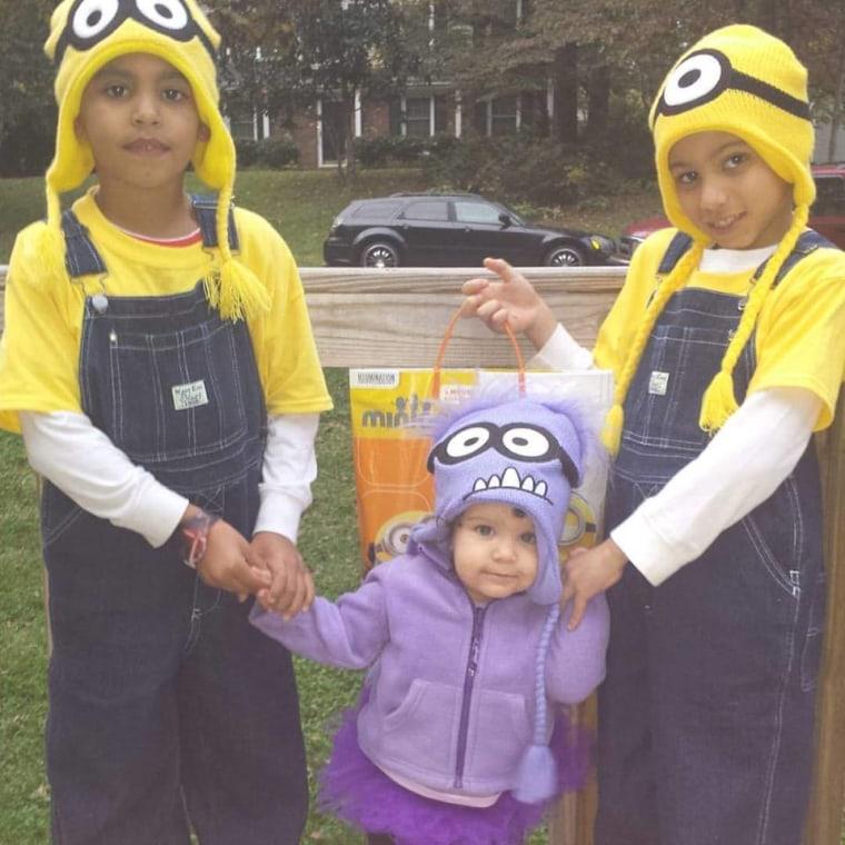Minion kids costume