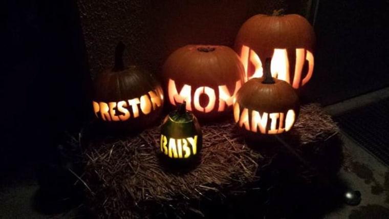 Halloween pregnancy announcements