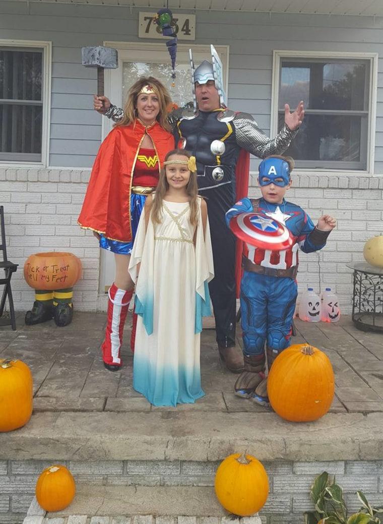 Family Superhero costume