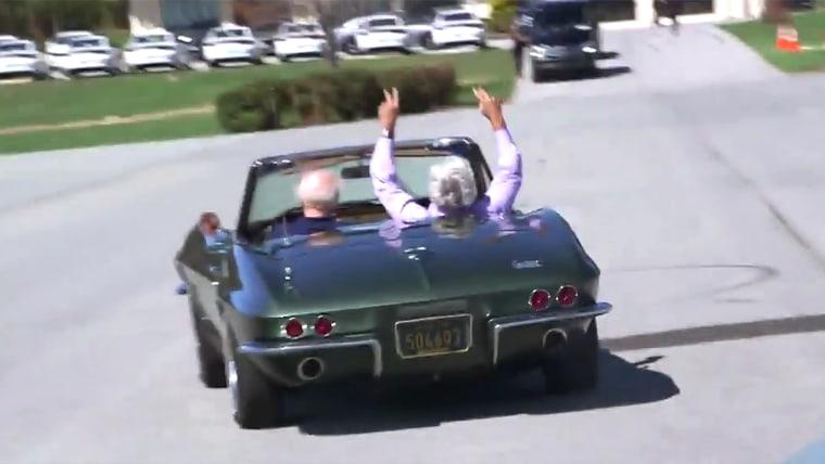 Jay Leno's Garage with Joe Biden and his Corvette
