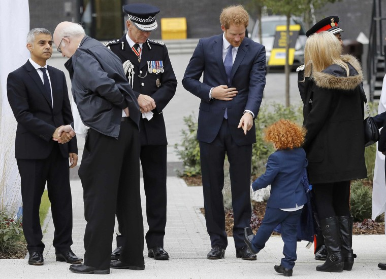 Prince Harry attends the Metropolitan Police Service Annual Ceremony of Remembrance for fallen officers.