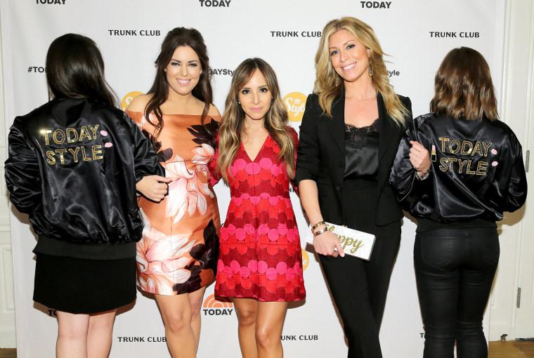 Bobbie Thomas, Lilliana Vazquez and Jill Martin of the TODAY Style Squad