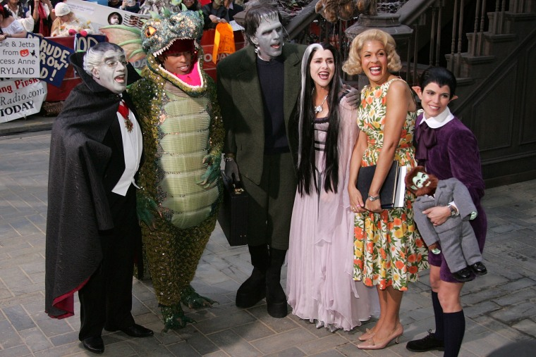 "Image: NBC ""Today"" Show Halloween Monster Bash"