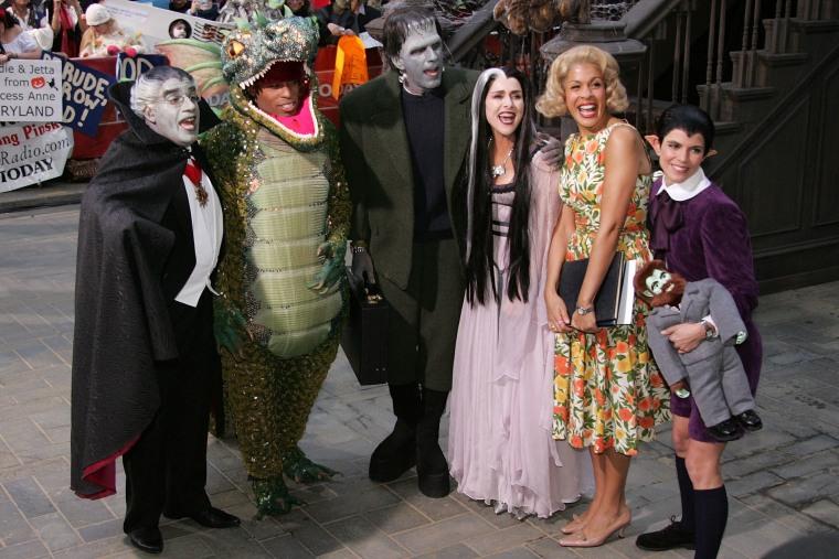 "Image: NBC \""Today\"" Show Halloween Monster Bash"