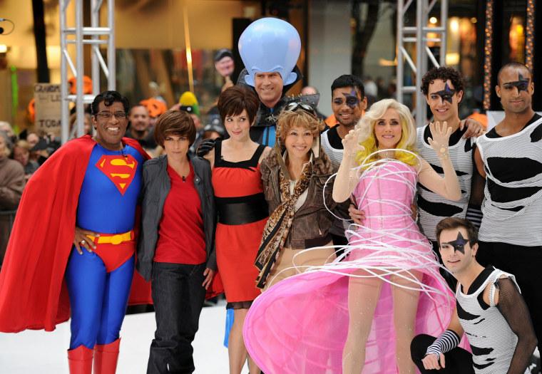 "Image: 2010 NBC's \""Today\"" Halloween Episode"