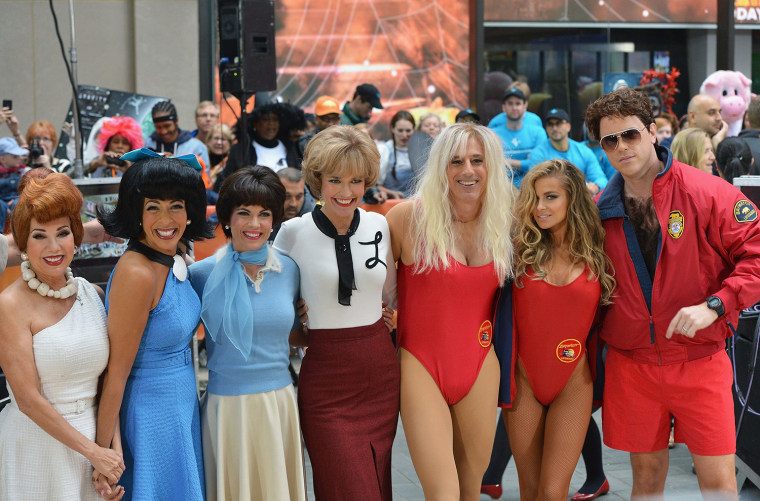 "Image: NBC's ""Today"" Halloween 2013"