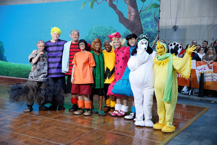 "Image: NBC's ""Today"": Spooktacular Costume Party"