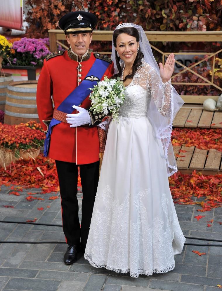 "Image: Image: NBC's \""Today\"" 2011 Halloween Celebration"