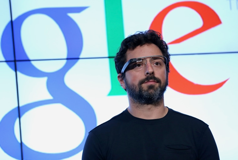 Sergey Brin At a Google HQ Conference