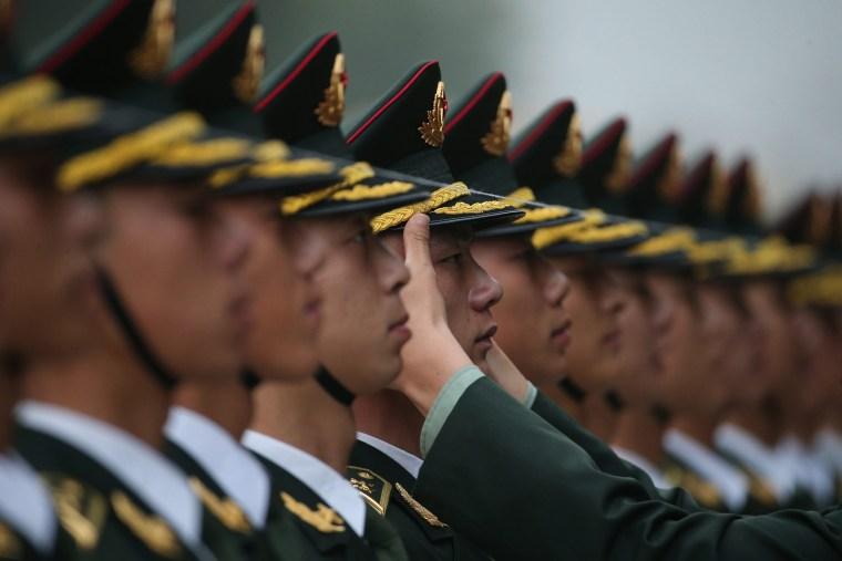 Image: Uruguayan President Tabare Vazquez visits China