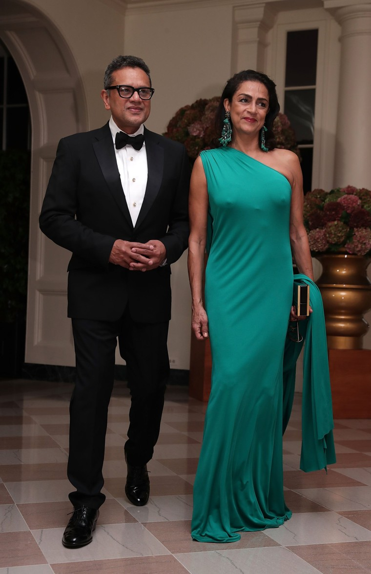 Image: President And Mrs. Obama Host State Dinner For Italian PM Renzi