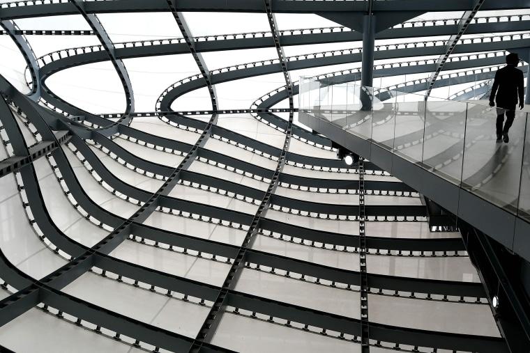 Image: TOPSHOT-ITALY-ARCHITECTURE-FUKSAS-CLOUD