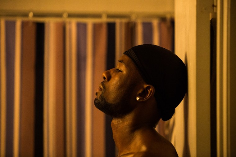 "Trevante Rhodes in ""Moonlight."""