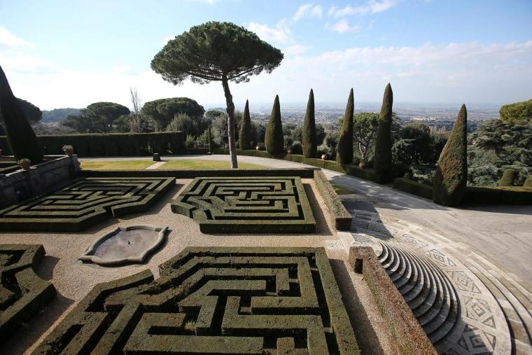 Image: Castel Gandolfo, the papal summer retreat