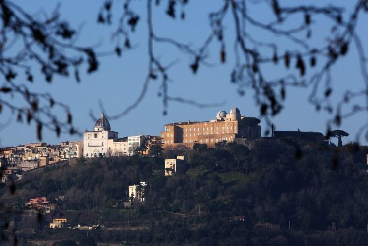 Image: Castel Gandolfo - Benedict XVI's Residence During The Next Conclave